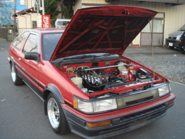 1987 YEAR TOYOTA GT COUPE TWIN CAM/20V AE111 ENGINE
