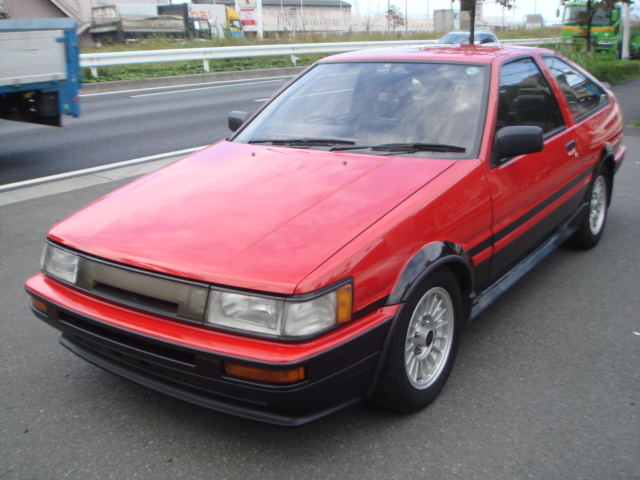 1986 YEAR TOYOTA GT COUPE TWIN CAM