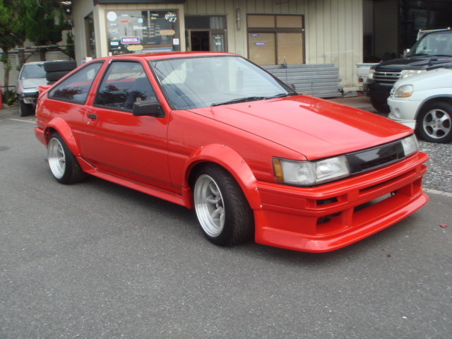 1985 YEAR TOYOTA LEVIN COUPE AE86 TWIN CAM