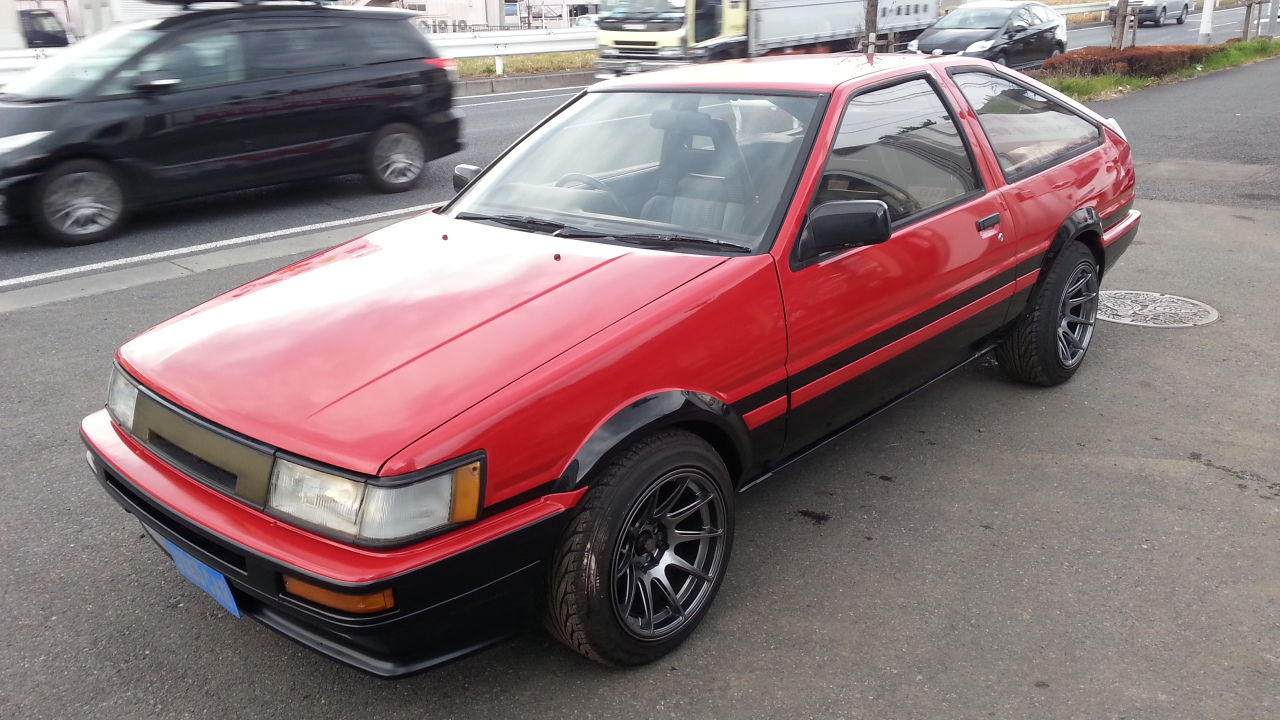 TOYOTA LEVIN COUPE AE86 TWIN CAM